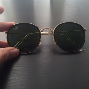 Ray-Ban Legend Collection Round fold up Sunglasses